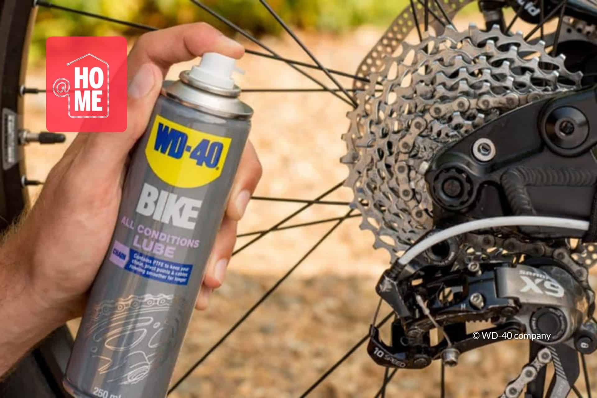 Lubrifiez la chaîne de votre vélo