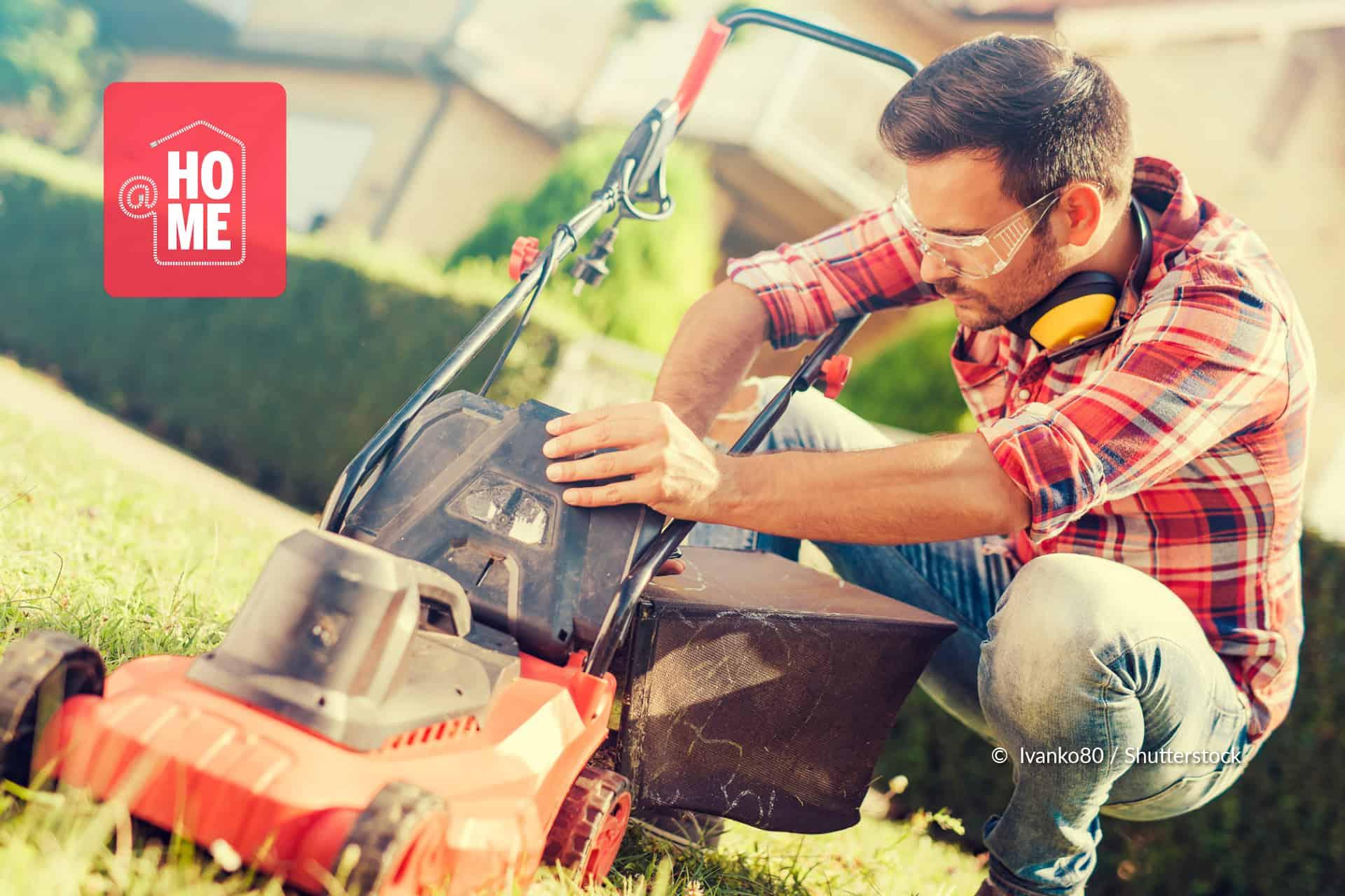 onderhoud benzine grasmaaier