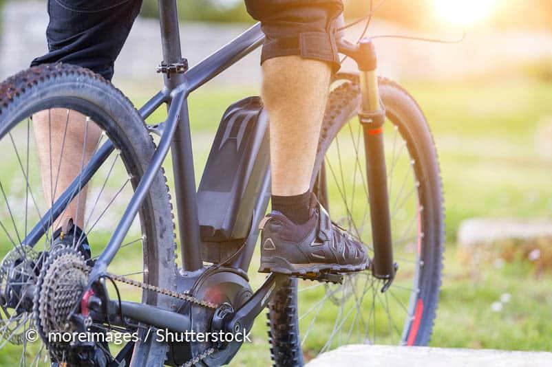 Bandenspanning van de e-bike onderhouden
