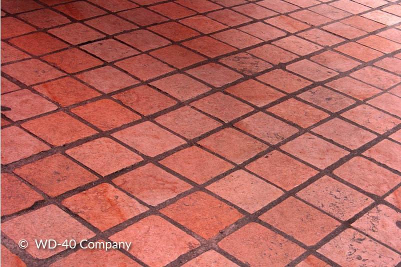 Poreuze tegels roest verwijderen