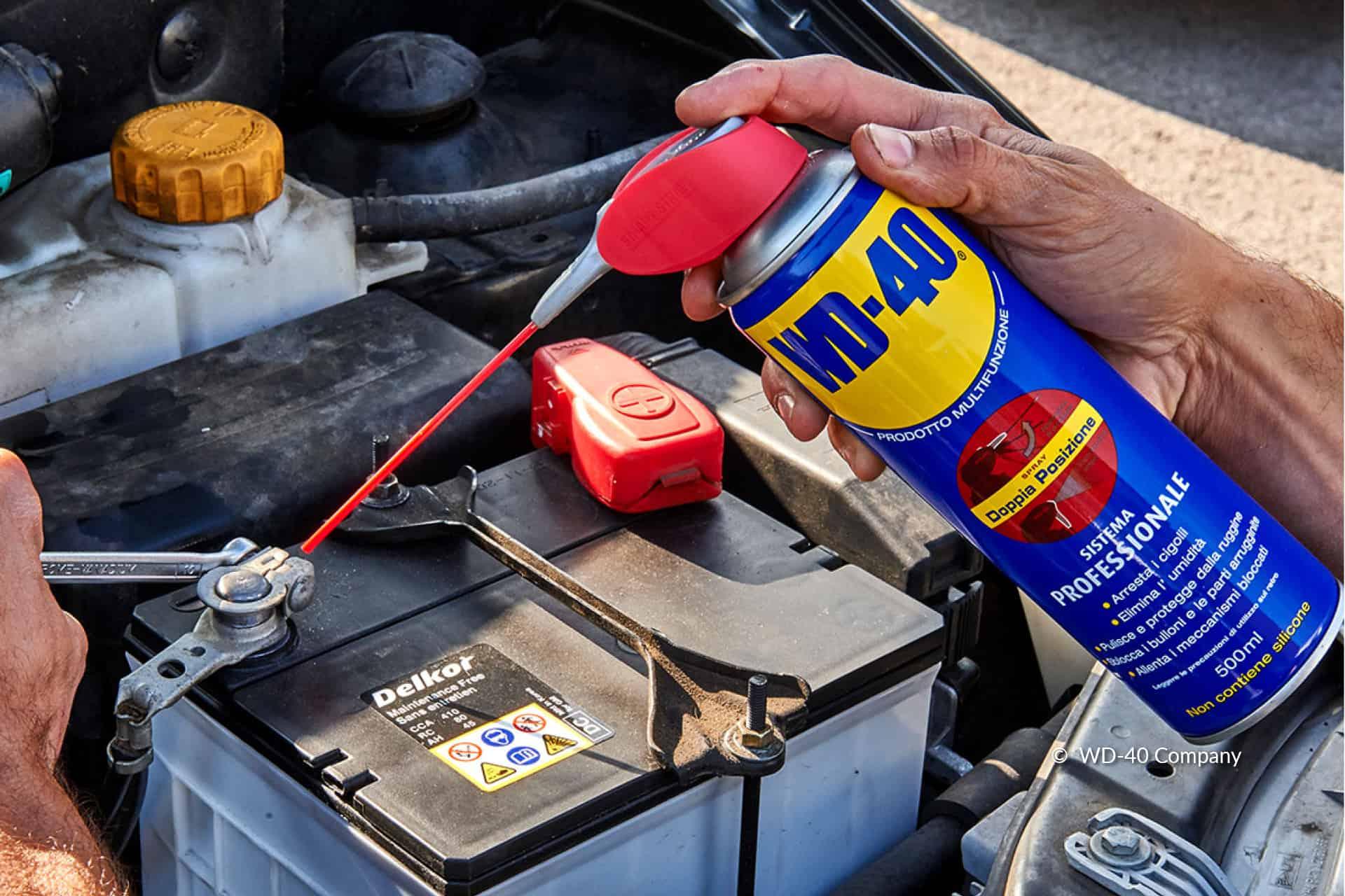entretenir la batterie d'une voiture