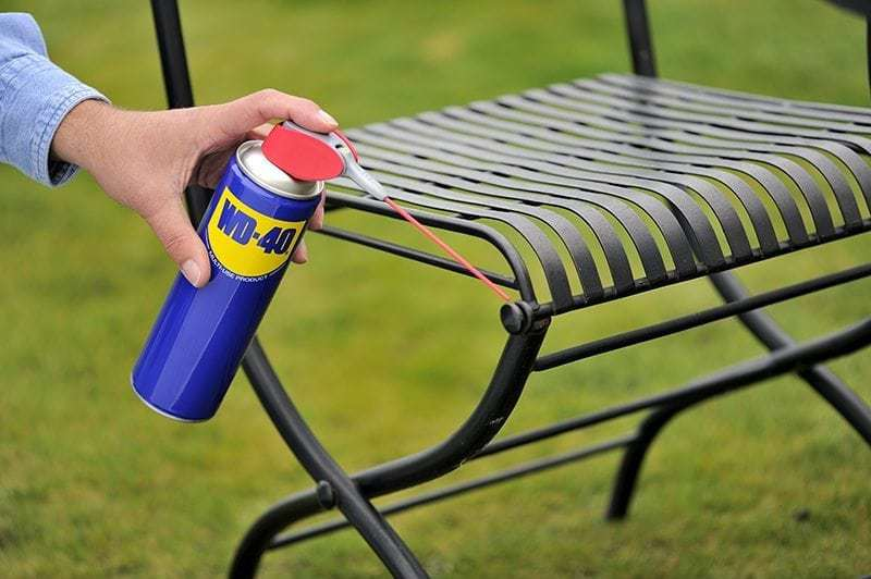 WD-40-tuinstoel-roest