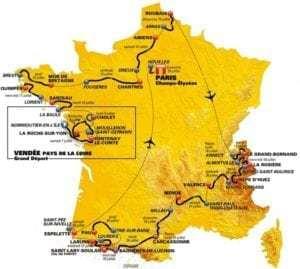 Tour de France - 3 weken vol fietsplezier!