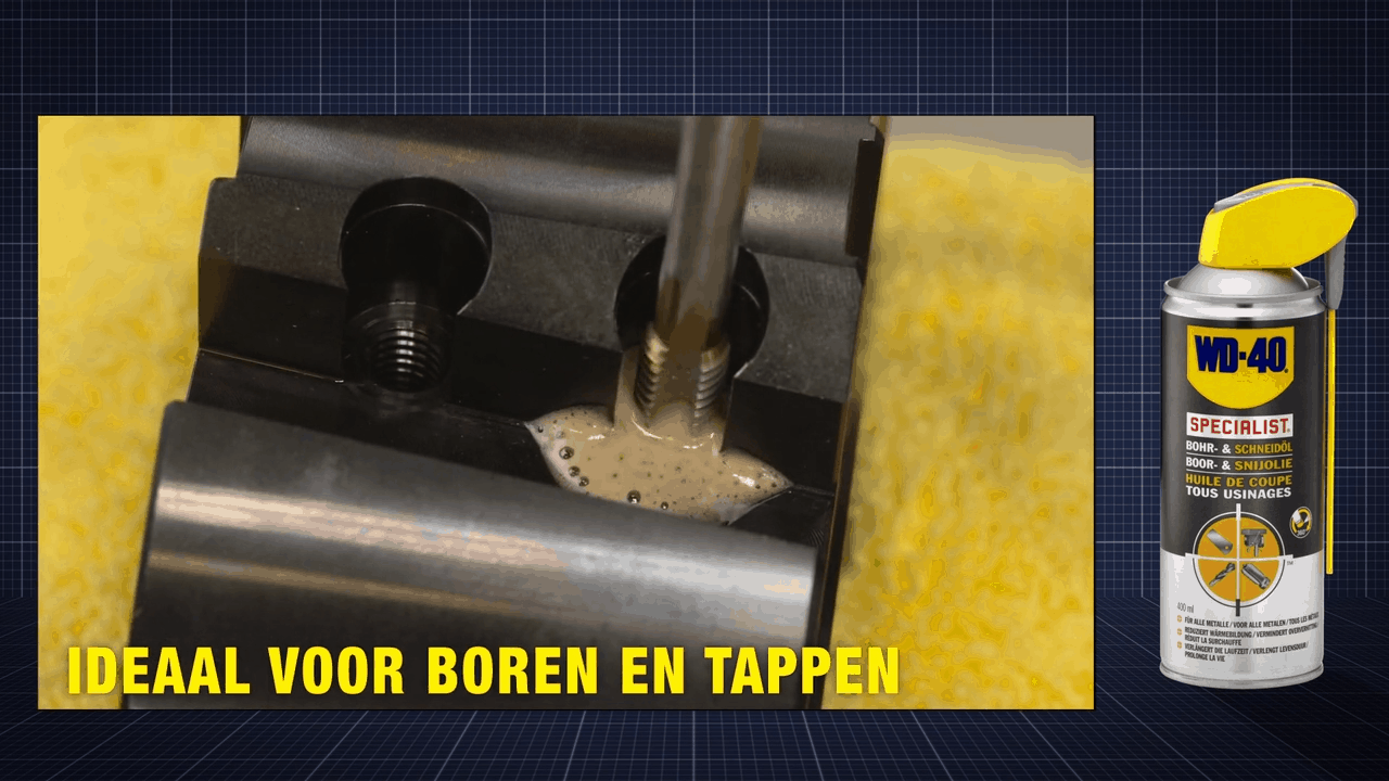 WD40 - WD-40 Specialist Boor- en Snijolie in de Automotive sector
