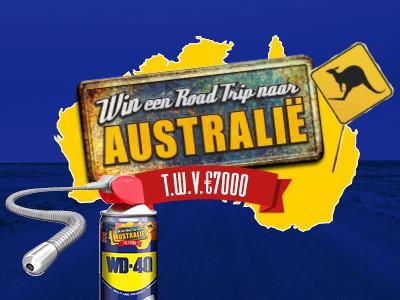 WD-40 Roadtrip Australië