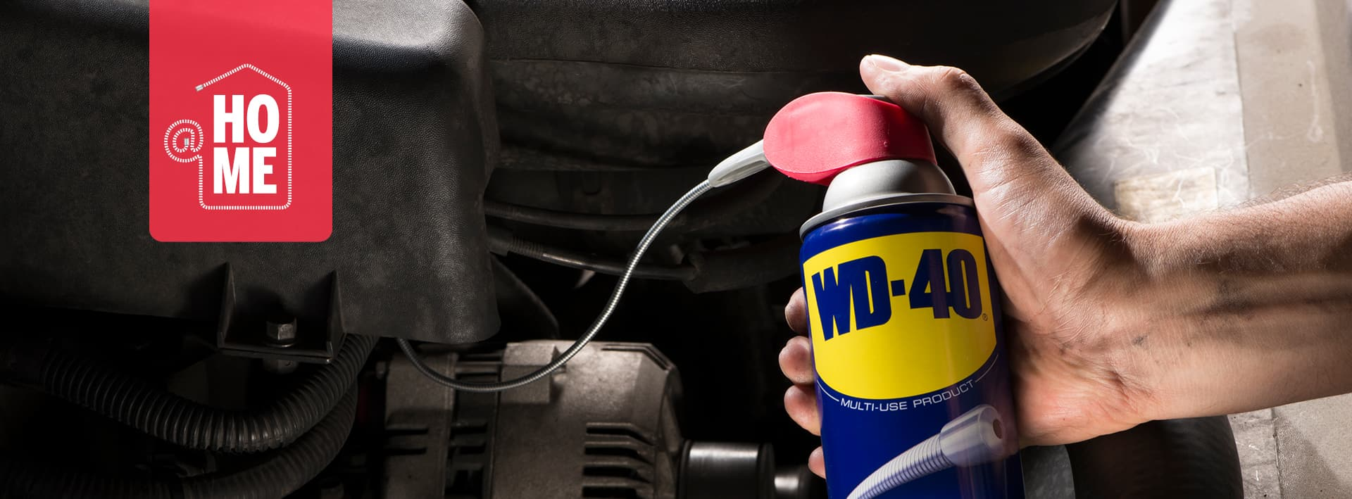 WD-40 header @home