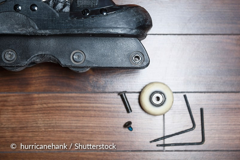 Skates onderhouden