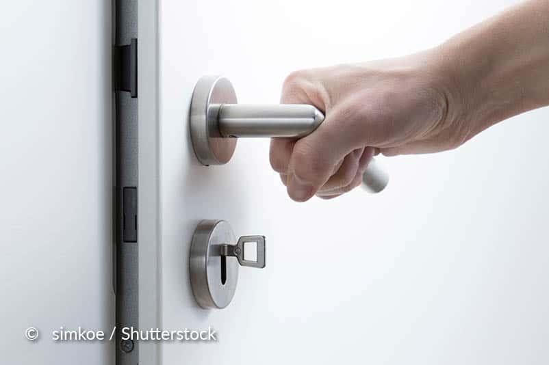 Controleer de deur