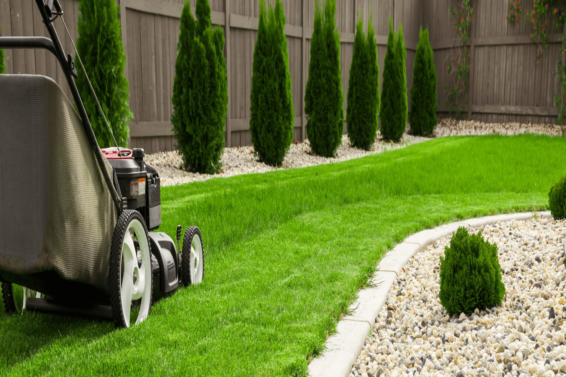 rengjør gressklipper