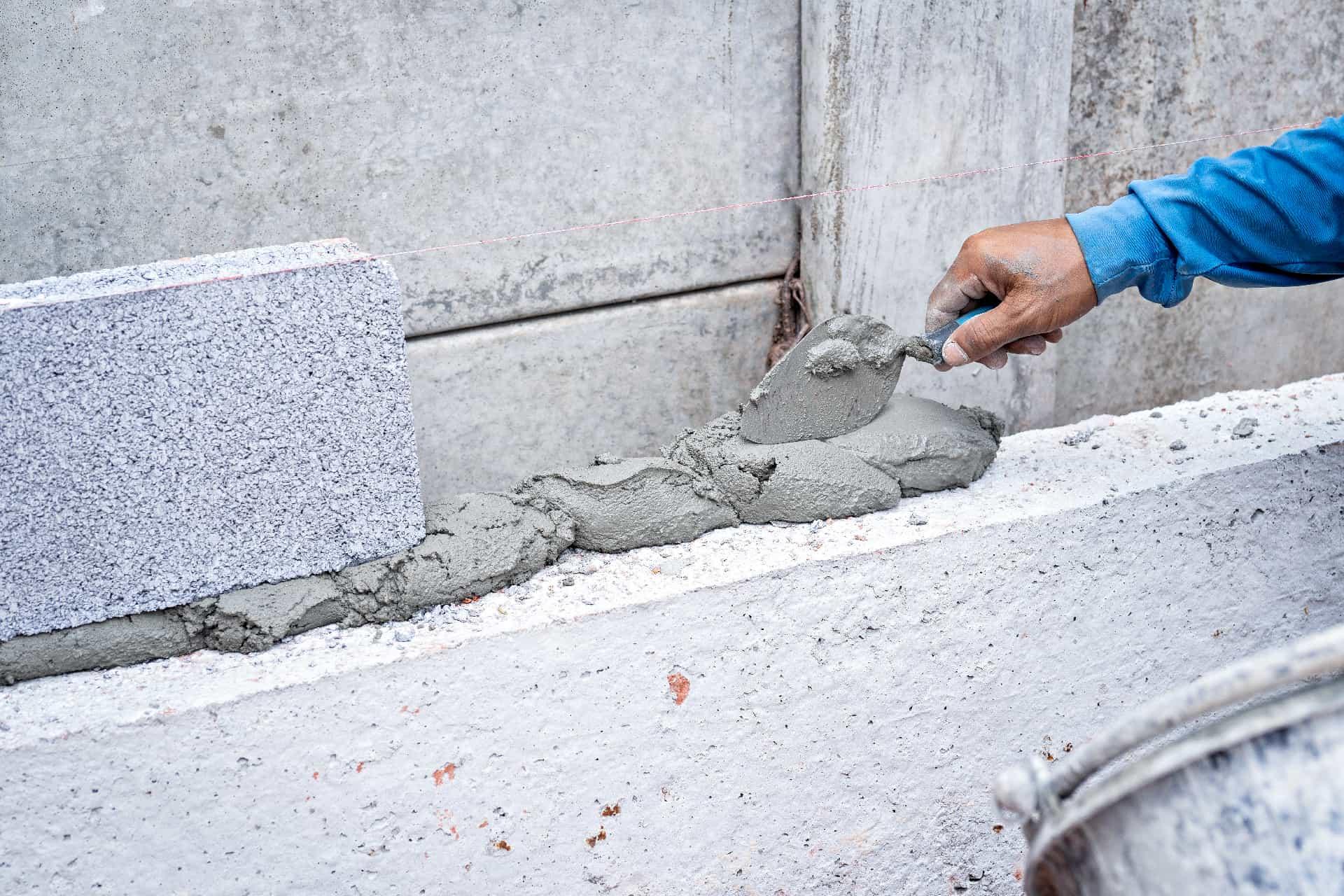 Fjerne betongrester