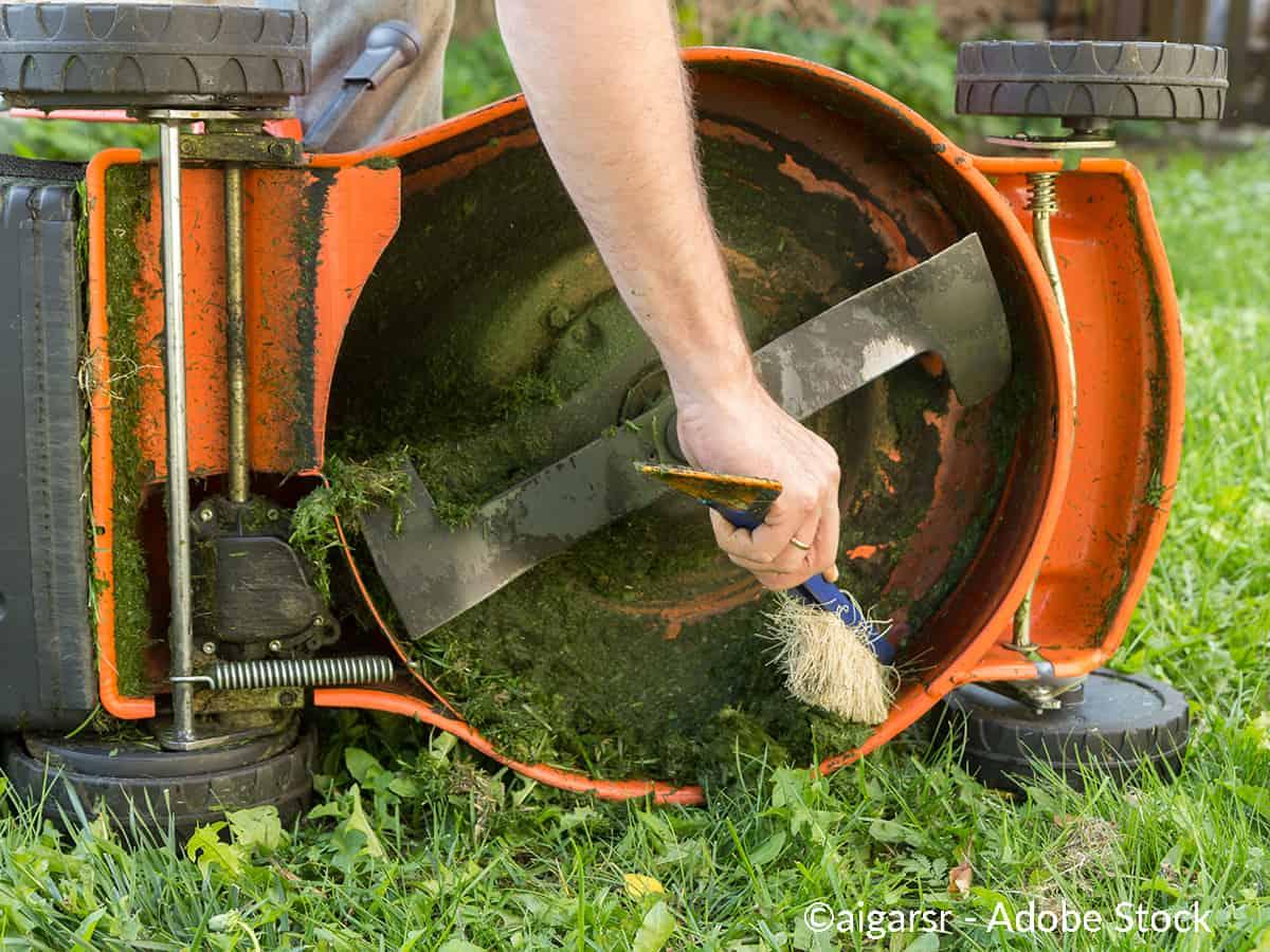 hvordan rengjøre hageverktøy