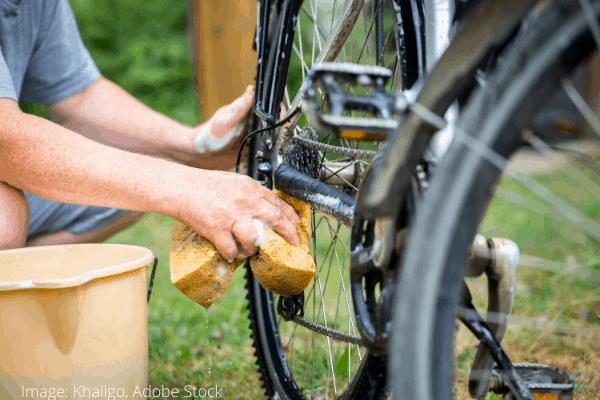 Hvordan rengjøre sykkelen