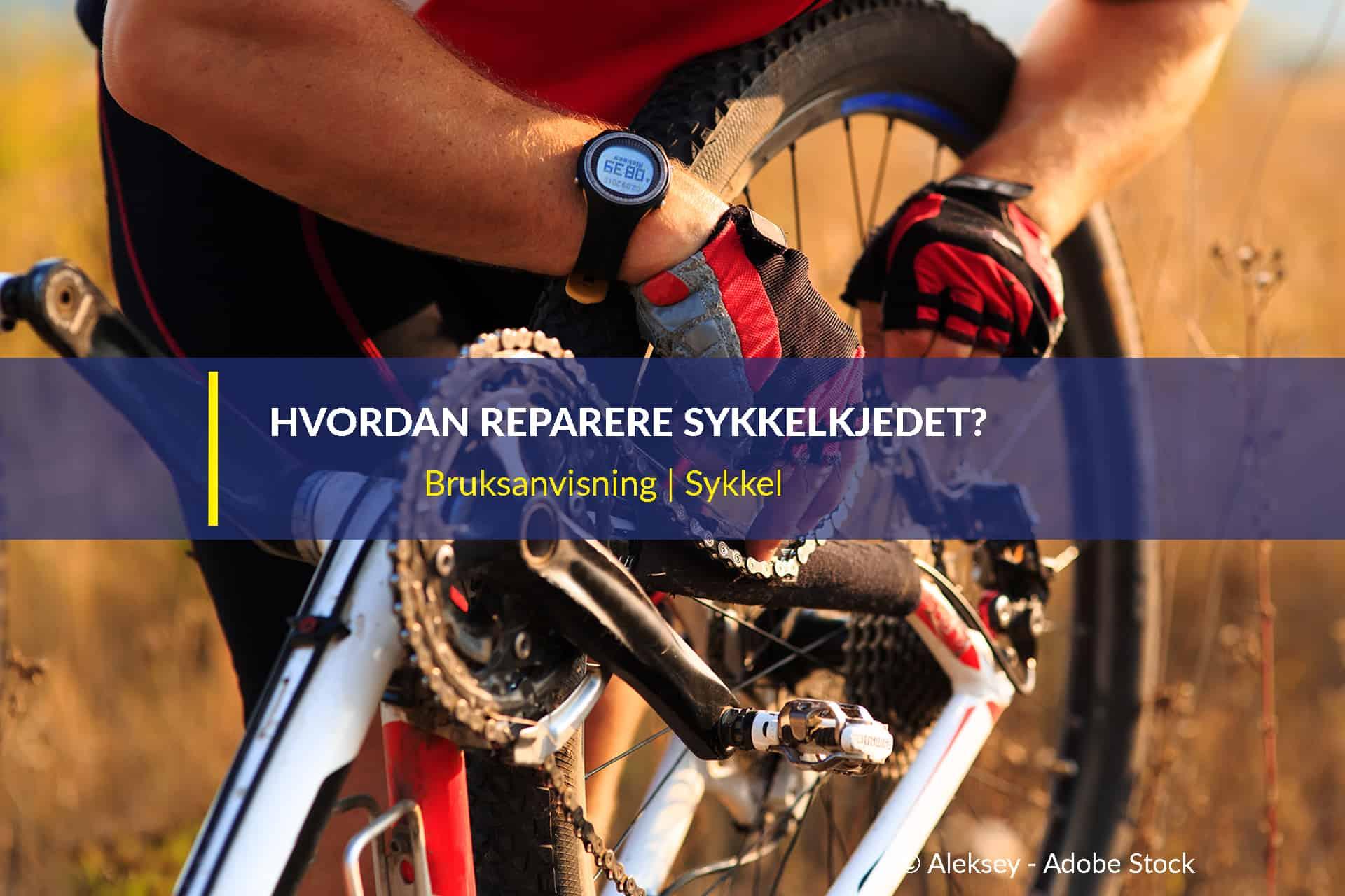 hvordan reparere sykkelkjedet