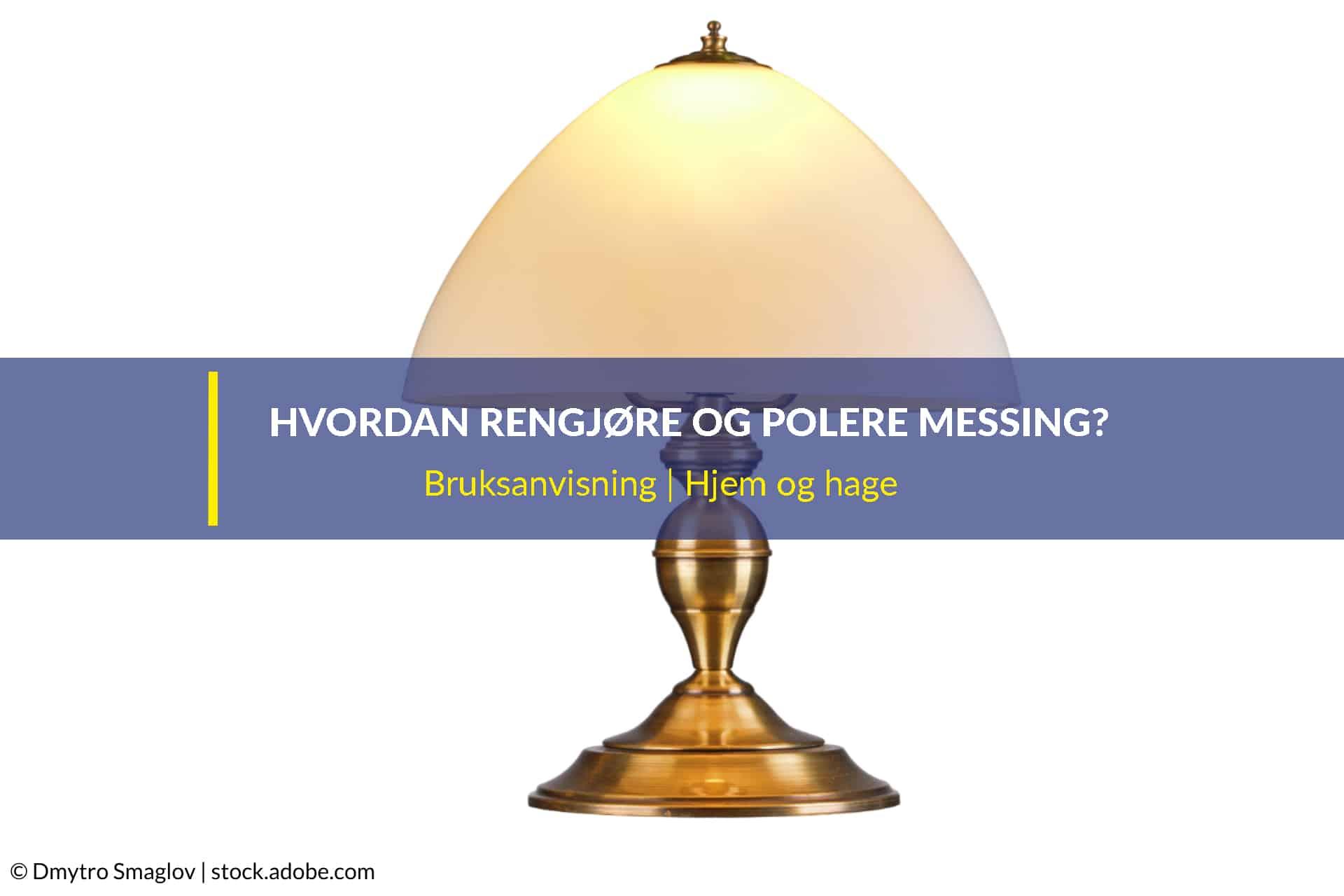 Hvordan rengjøre og polerer messinglamper WD 40 Norge