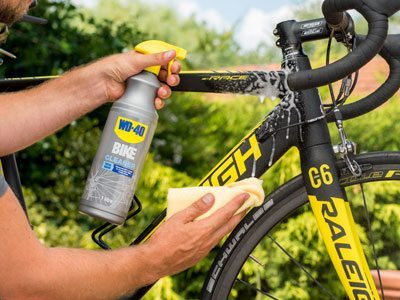Bike Cleaner Usage Shot 2