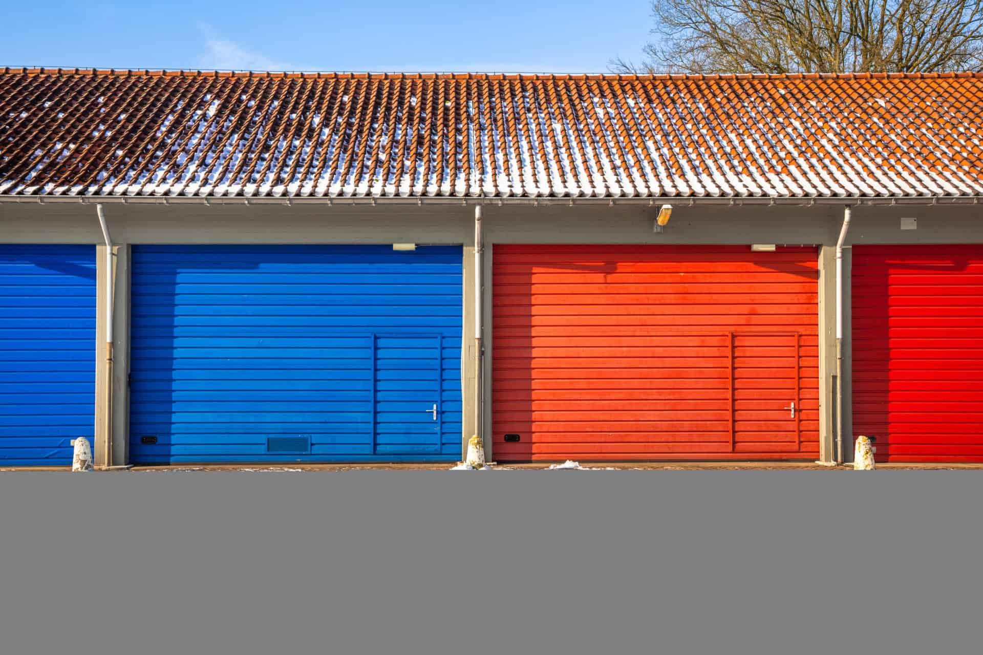 smar do drzwi garażowychn snow