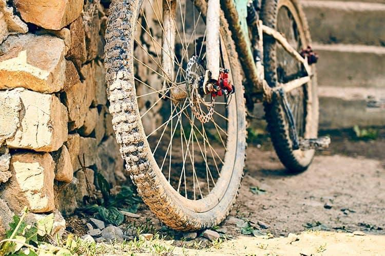 bicicleta suja