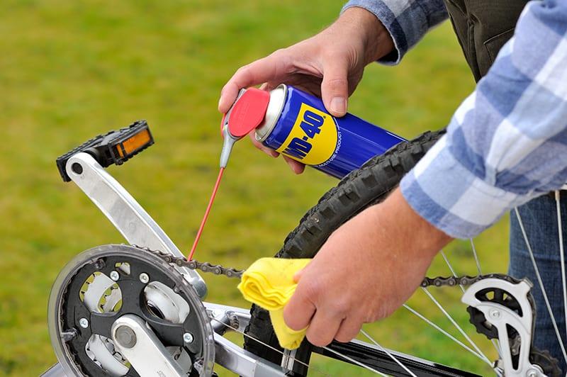 84 dicas para lubrificar a bicicleta