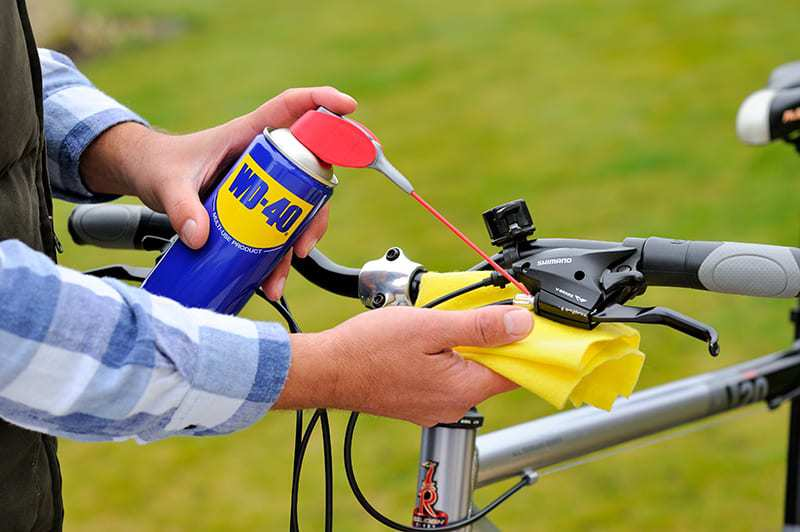 manutenção da bicicleta travões