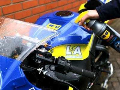 motorbike total wash usage shot1