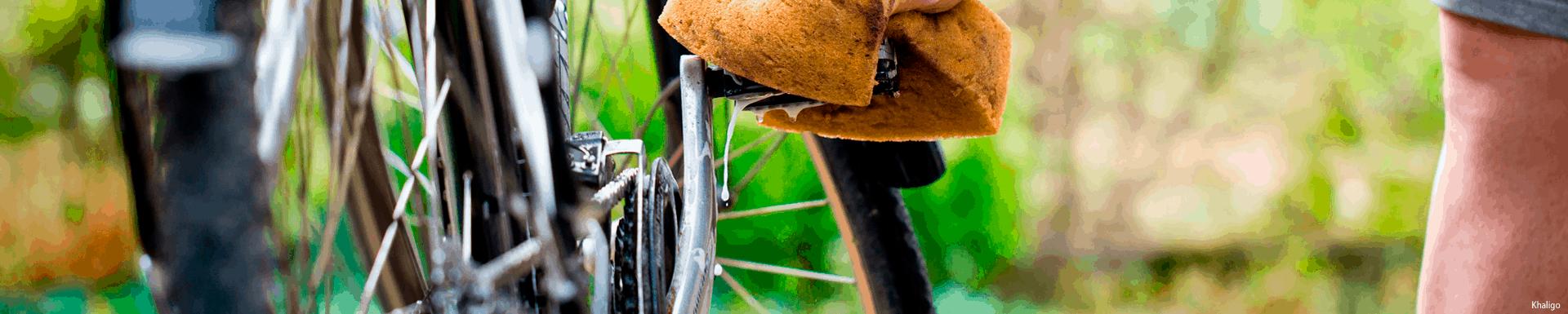 Limpeza da bicicleta com WD-40 BIKE
