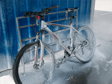 Lavar bicicleta com Limpeza total WD-40 BIKE