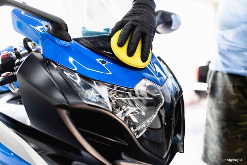 Renovar, limpar e manter plasticos da moto - WD-40