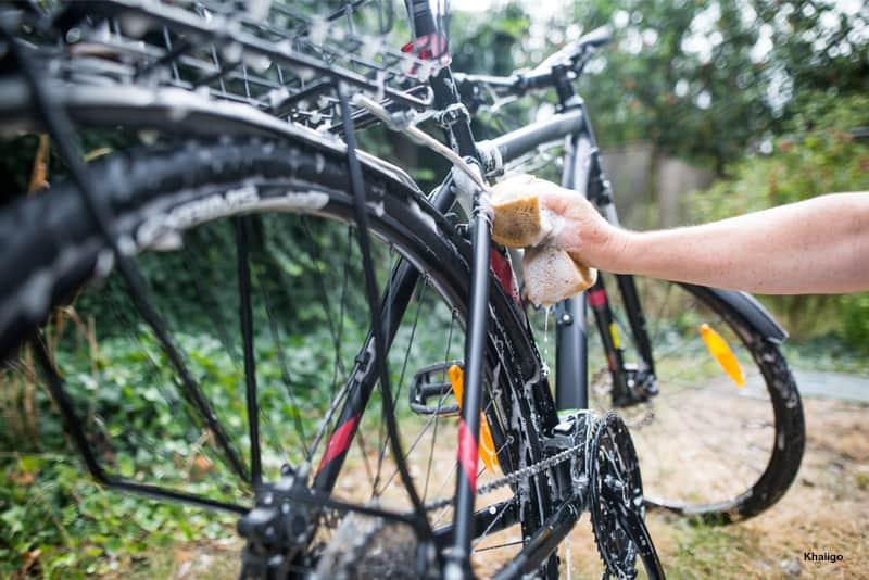Manutenção da bicicleta: prevenir a oxidação dos riscos - WD-40