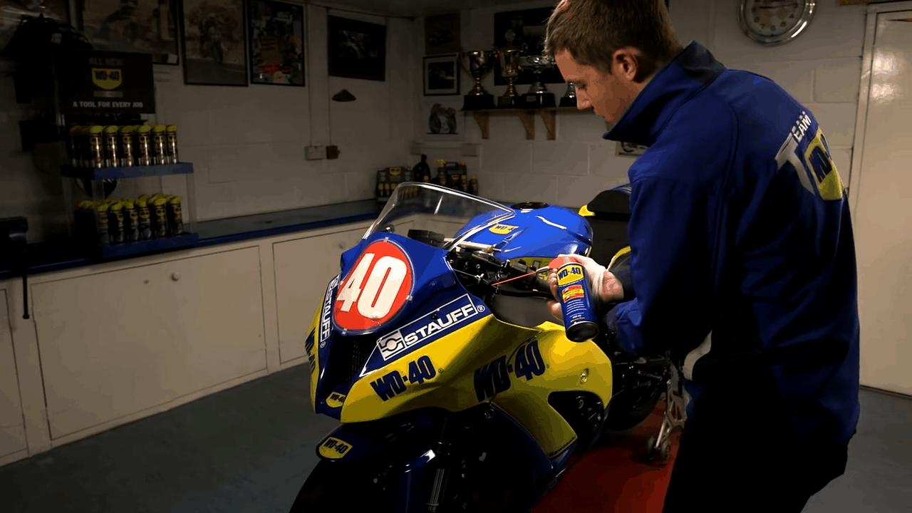 Lubrificar a moto