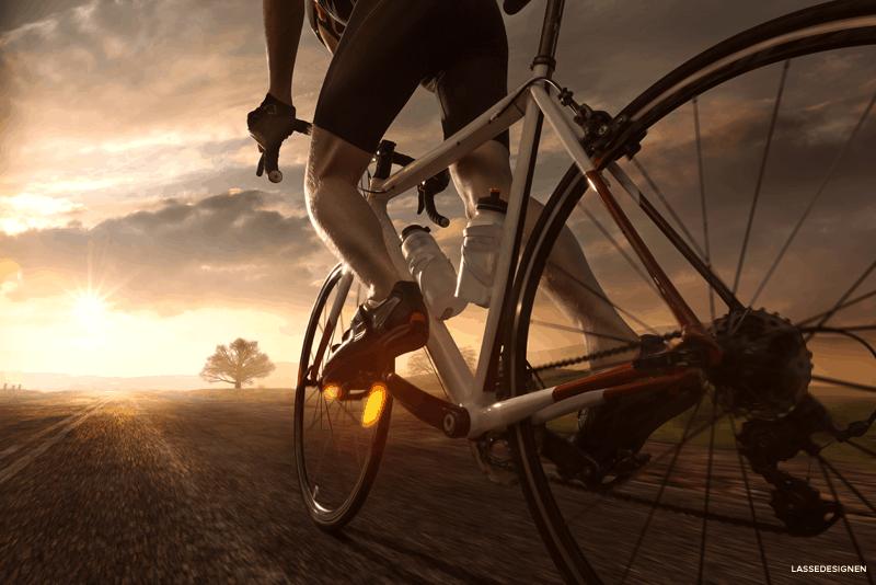 Preservar os plasticos da bicicleta com WD-40