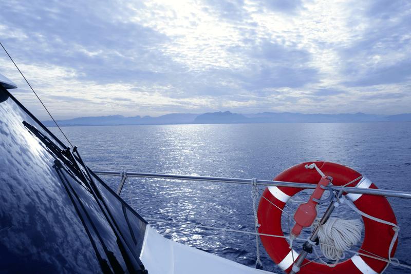 limpar para-brisas do barco