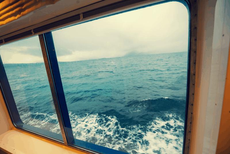 lubrificar janelas do barco