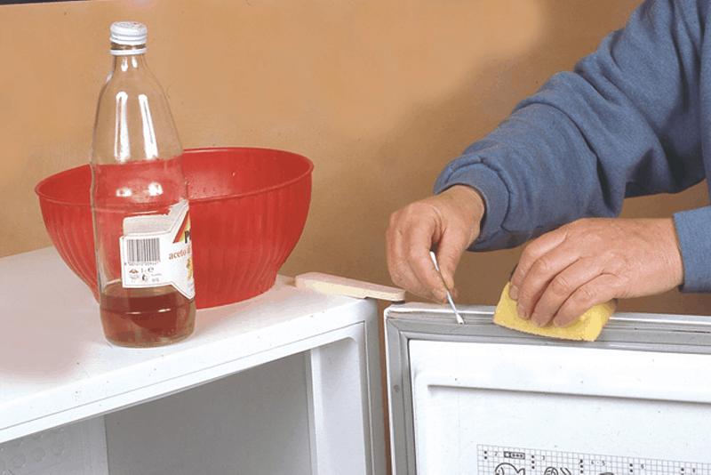 limpar borrachas