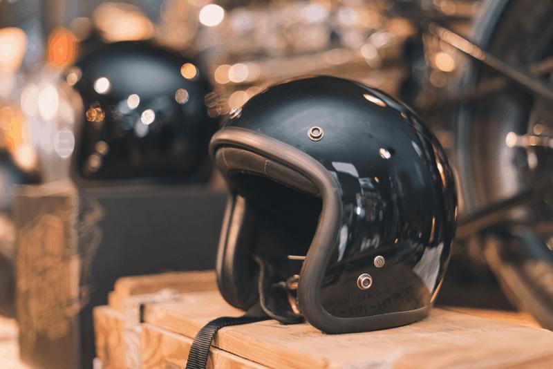 limpar o interior do capacete