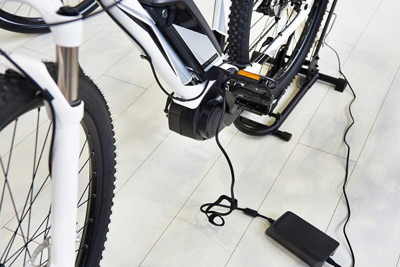 Carregamento bicicleta elétrica