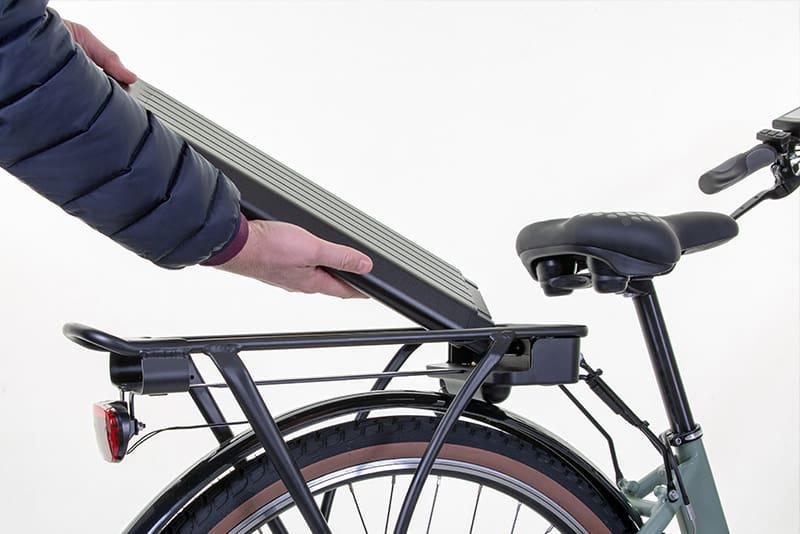Limpeza de bicicleta elétrica WD40