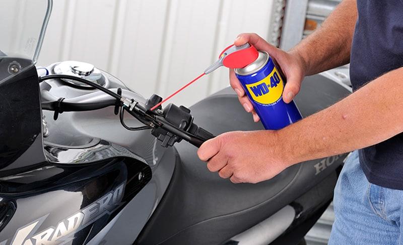 manutenção da moto