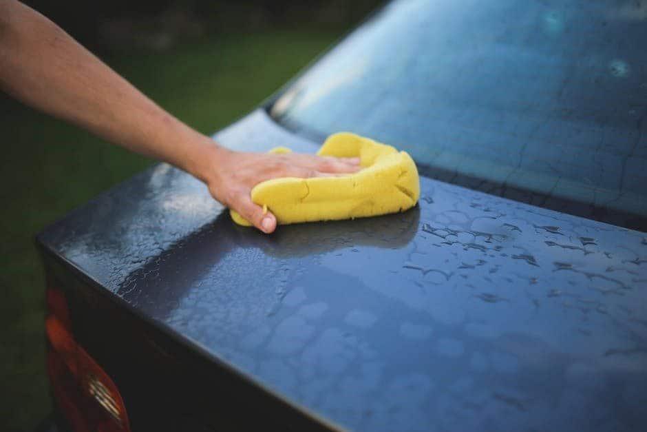 curățarea mașinii iarna
