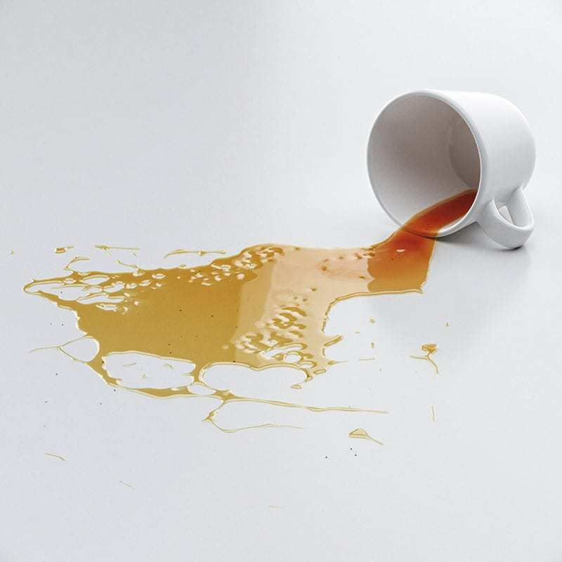 îndepărtarea petelor de ceai