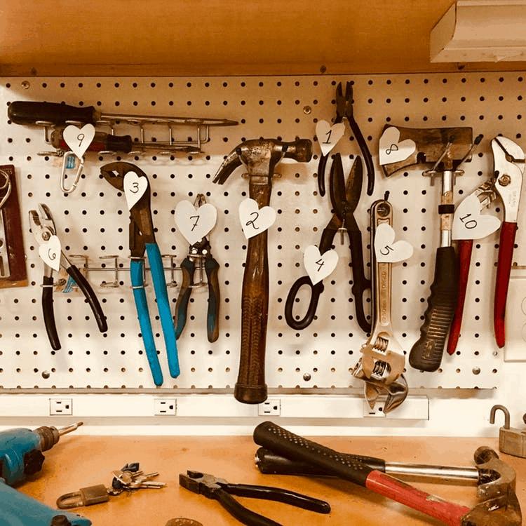 cum să cureți uneltele