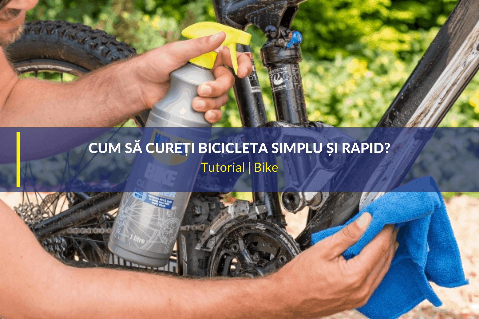 cum să cureți bicicleta