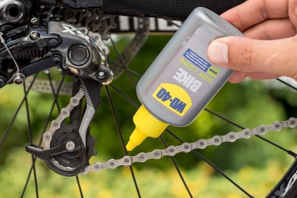 lubrifierea lantului de bicicleta