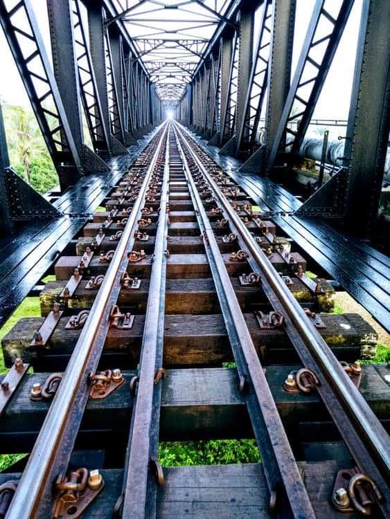 metal railway