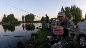 Применение WD-40 на рыбалке