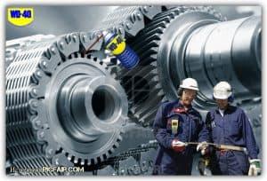 Применение WD-40 в промышленности