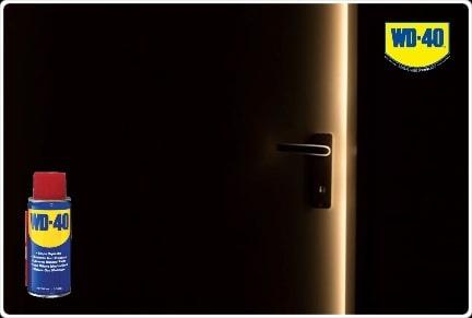 двери, смазка для петель wd40