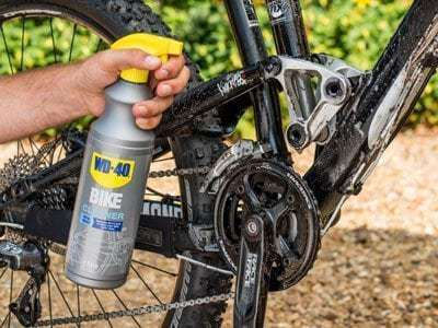 bike cleaner usage shot