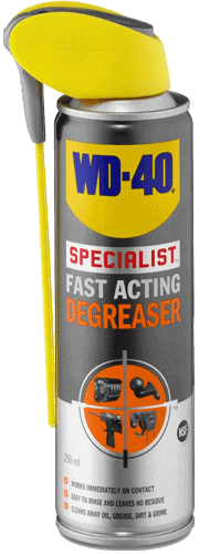 wd40 fast acting degreaser 250ml