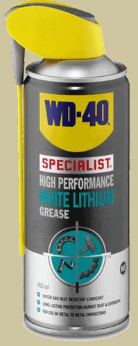 wd40 high performance white lithium