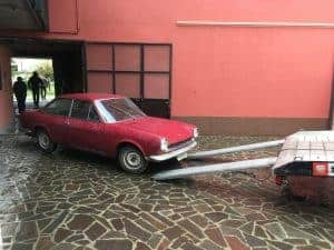 Fiat 124 Sport Coupe AC 1969 - Vrečkov projekt - 1. del